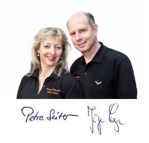 Petra Seiter und Jürgen Loga